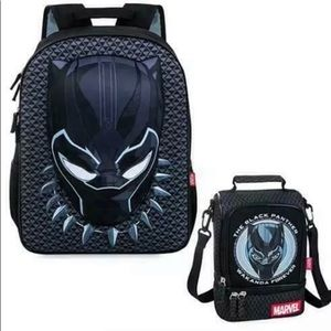 NEW: Disney's Black Panther Backpack n lunch bag